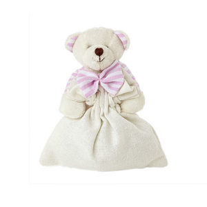 Sacchetto con orsetto rosa