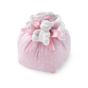 sacchetto lino profumatore con gessetto