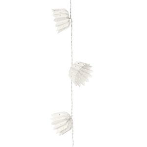 Filo 10 lanterne carta bianche