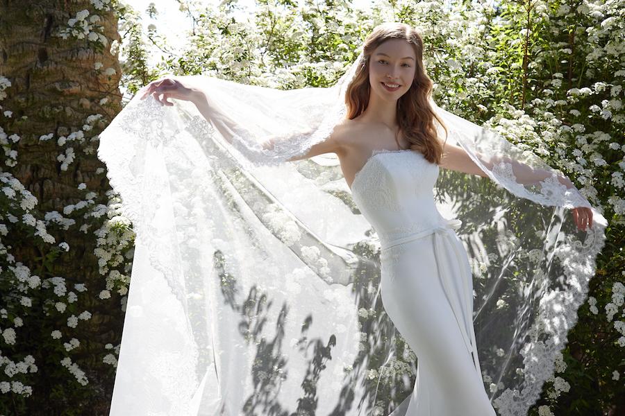 Elisabetta Polignano abito in cadi