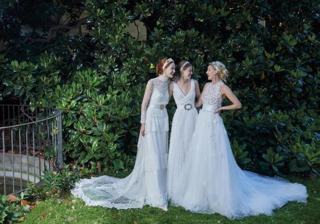 meravigliosi abiti della linea Elisabetta Polignano