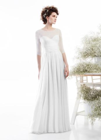 Elegante abito in chiffon