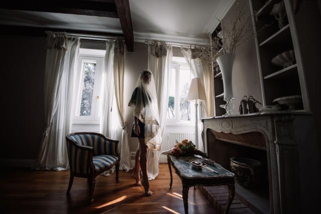 la sposa in suite